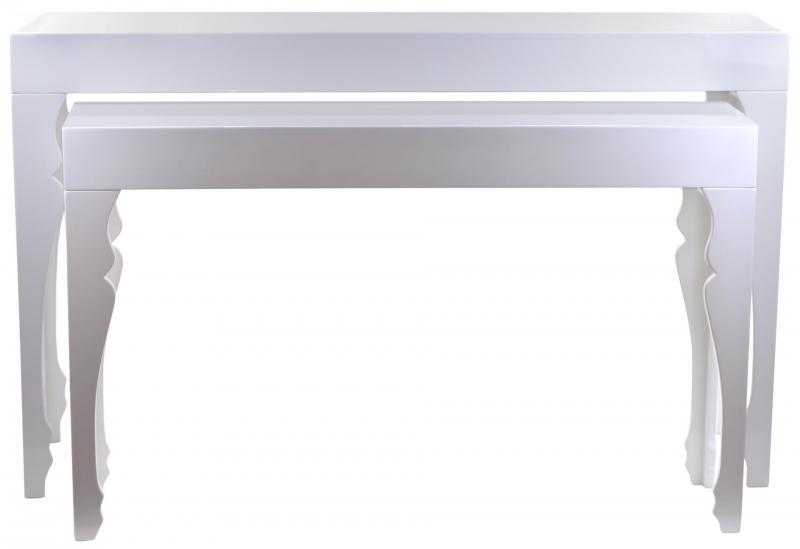 stoły białe meble