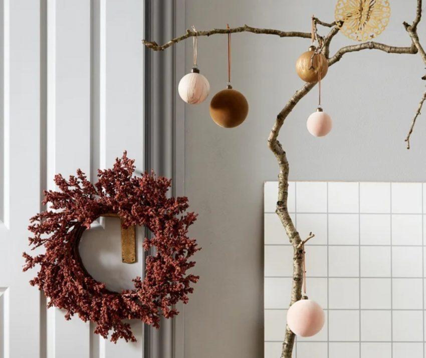 świąteczna dekoracja okien